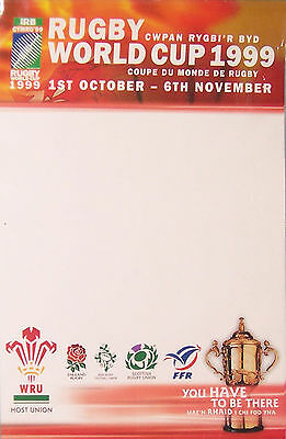 1999 Rwc Blank Advertising Rugby Poster