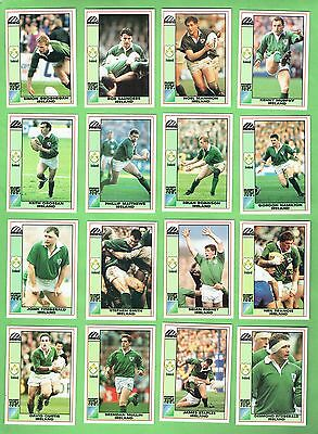 1991  Ireland  Rugby Union World Cup Cards
