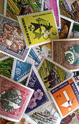 Collection of Foreign Large Size Topical Stamps Lot #4 - All Different Stamps