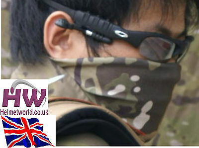 Airsoft Camo Woodland Mtp Neck Wrap Bandana 8 In 1 Uk Fast  Delivery New