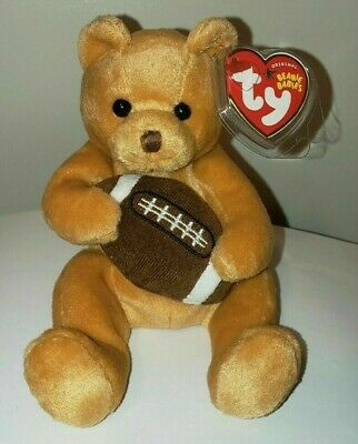 Ty Beanie Baby ~ BLITZ the Football Bear ~ MINT with MINT TAGS ~ RETIRED