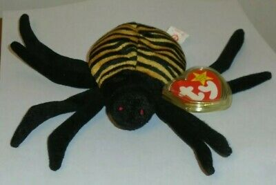 Ty Beanie Baby ~ SPINNER the Spider ~ MINT with MINT TAGS ~ RETIRED