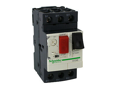 Schneider Motor protection switch GV2ME06_____1,0A - 1.6A for Three-phase motors
