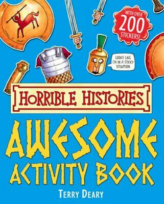 Awesome Activity Book (Horrible Histories) by Deary, Terry Paperback Book