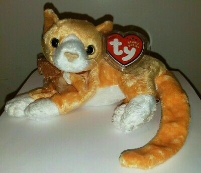 Ty Beanie Baby ~ TABS the Cat ~ MINT with MINT TAGS ~ RETIRED