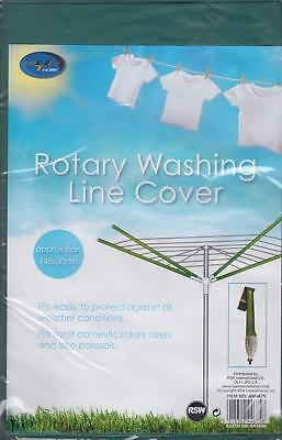 Waterproof Universal Rotary Washing Line Parasol Cover 148cm x 30cm Approx