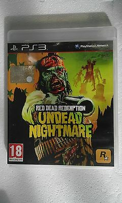 Ps3 Sony Playstation 3 Red Dead Redemption Undead Knightmare