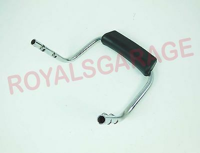 royal bikes classic electra standard backrest rod chrome standard harley style