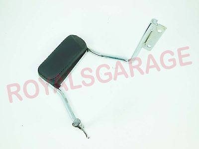 royal bikes classic electra standard backrest seat handle chrome with cushion