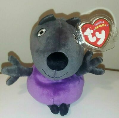 e1e1a1ef063 Ty Beanie Baby ~ DANNY DOG ~ UK Exclusive Peppa Pig ~ MINT with MINT TAGS