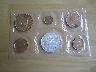 Mexican Coin Set.  6 Coins total including Silver