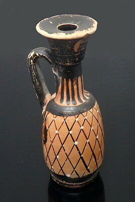 Restored Greek South Italian Lekythos. Attractive Piece (K65) • CAD $442.08