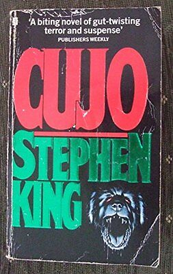 Cujo, Stephen King Book The Cheap Fast Free Post