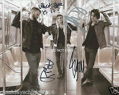 "Highly Suspect rock band Reprint Signed 8x10"" Photo RP + ALL 3 Members #1"