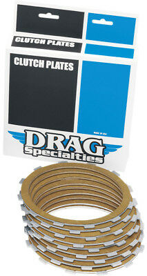 Drag Specialties Aramid Friction Clutch Plates 9 Pack For Harley 1131-0419