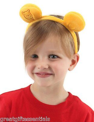 WINNIE THE POOH EARS HEADBAND Adult Child Kids Costume Accessory DISNEY LICENSED