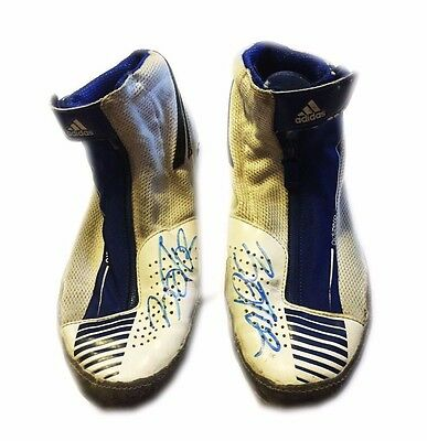 Wwe Nxt Finn Balor Ring Worn Hand Signed Tokyo Dome Shoes With Pic Proof 2