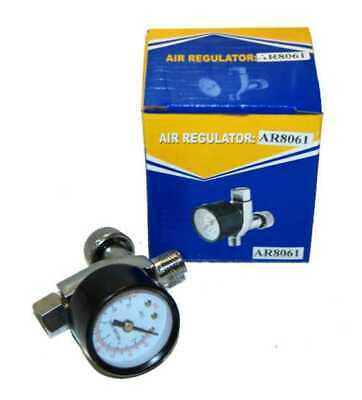 HVLP Spray Gun AIR REGULATOR -PRESSURE GAUGE Auto Paint