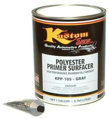 Gallon Gray POLYESTER PRIMER FILLER SURFACER-Auto-Paint