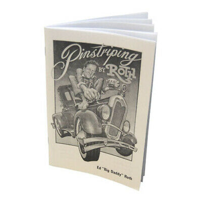 Ed Roth Pinstriping/Pinstripe/Stripe Book-Brush-Auto