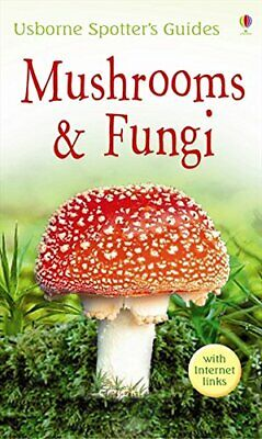 Mushrooms and Funghi (Usborne Spotter's Guide), Richard Clarke Paperback Book