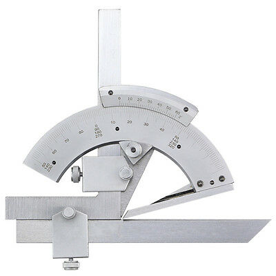 New 0-320° Bevel Protractor Precision Angle Measuring Finder Scales Measure Tool