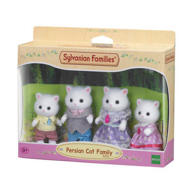 SYLVANIAN Families Persian Cat Family Figures 5216