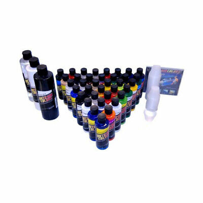 36 AUTO-AIR COLORS PAINT KIT-Airbrush-Car-Craft-Hobby