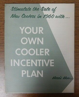 Coca-Cola 1960 Stimulate New Cooler Sales with Your Own Cooler Incentive Plan