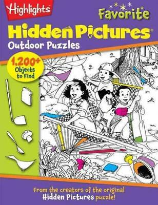 Highlights Hidden Pictures Favorite Outdoor Puzzles - Highlights For Children, I