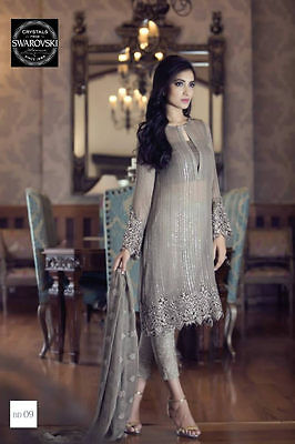 MB3M READYMADE - Maria B Designer Trouser Shirt Salwar kameez Pakistani Indian