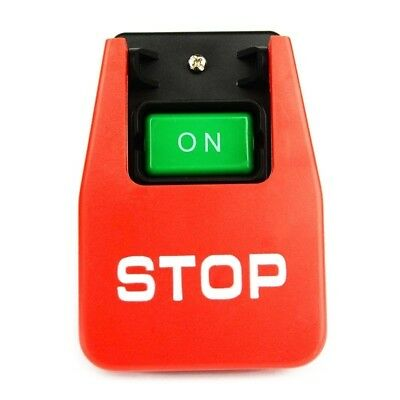 On-Off Switch Start-Stop Push Paddle Large Red Button 110/220