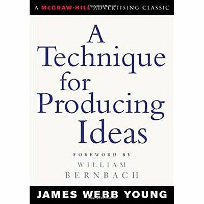 A Technique for Producing Ideas (McGraw-Hill Advertisin - Paperback NEW Young, J
