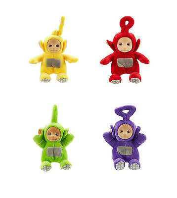 Teletubbies Supersoft Collectable Plush Soft Toy - Po, La La, Tinky Winky, Dipsy