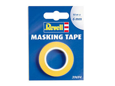 (GP: 1m= 0,26 EUR) Revell: Maskier-Band / Masking Tape 6mm x 10m  - 39694