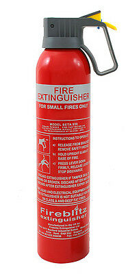 950G Bc Powder Fire Extinguisher Car Home Caravan Van Portable Compact Home Taxi