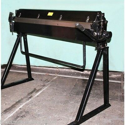 Folder Floor Standing Hand Operated Sheet Metal 40 inch / 1060mm 1.5mm Capacity