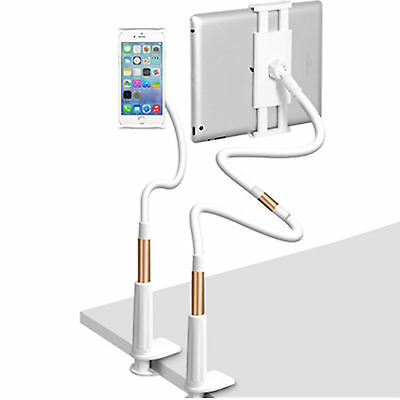 360 Rotate Table Desk Bed Wall Mount Holder stand For 7-11'' IPhone IPad 110CM