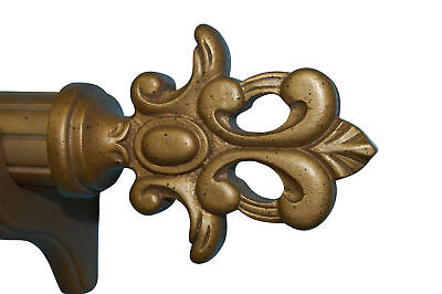 Hickory Manor House Flourish Curtain Finial