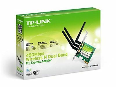 TP-LINK TL-WDN4800 N900 Wireless Dual Band PCI Express Adapter 900Mbps NEW