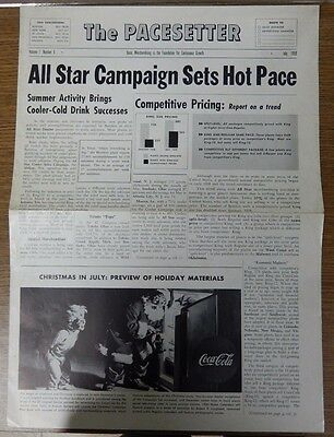 """The Pacesetter Vol 1 No 6 """"Basic Merchandising is the Foundation..."""" July 1959"""