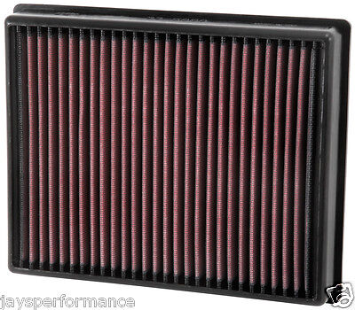 33-5000 K&n Sports Air Filter To Fit Mondeo Mk5 2014 - 2016