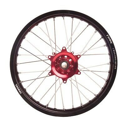 """Tusk Impact Complete Rear Wheel 18"""" X 2.15"""" Black / Red 141850002"""