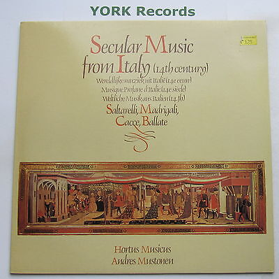 249 003 - SECULAR MISC FROM ITALY (14th Century) - HORTUS MUSICUS - Ex LP Record