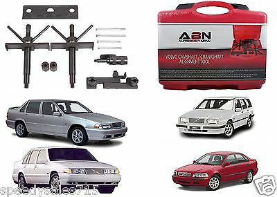 ABN Volvo Camshaft Crankshaft Engine Alignment Tool Timing Set New Free Shipping