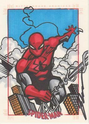 Spider-Man Archives -  Bukauskas  Sketch Card of  Spider-Man # 3