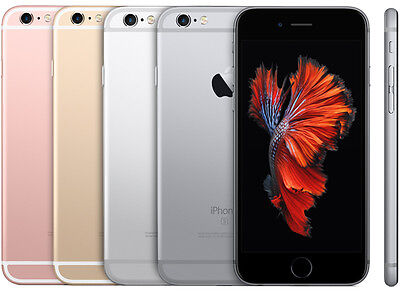 New Apple Iphone 6S 16Gb Factory Unlocked Smartphone Rose Gold Silver Space Gray