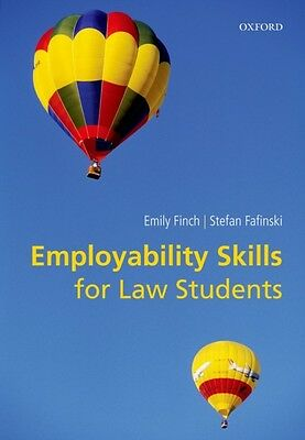 Employability Skills for Law Students (Paperback), FINCH, EMILY, . 9780199663231
