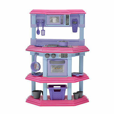 American Plastic Toys 23 Piece My Very Own Sweet Treat Kitchen Set