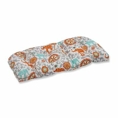 Pillow Perfect Menagerie Outdoor Loveseat Cushion